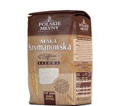 Mąka Szymanowska razowa typ2000. Mąka Szymanowska razowa od lat ceniona jest ze względu na swoje walory zdrowotne. Powstaje ona w procesie mielenia całych ziaren, bez oczyszczania, dlatego posiada wiele otrębów bogatych w cenne składniki odżywcze. Mąka razowa idealnie pasuje do pieczenia pysznego i wyjątkowo zdrowego chleba pełnoziarnistego. Babcia Szymanowska używa jej przy pieczeniu pysznych i chrupiących pełnoziarnistych bułeczek.