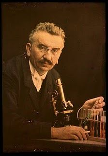 Louis Lumiere -The Autochrome Lumière is an early color photography process. Patented in 1903 by the Lumière brothers in France and first marketed in 1907, it was the principal color photography process in use before the advent of subtractive color film in the mid-1930s.