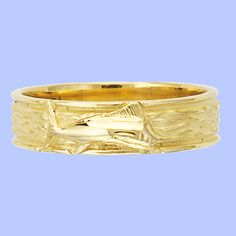 Marlin Wedding Ring Single