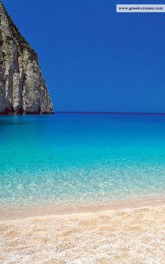 Navagio beach, Zakynthos island ~ Greece