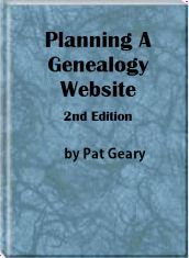 Genealogy Web Creations and Web Design - Website Design for the Genealogist