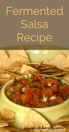 Fermented Salsa Recipe