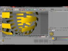 How to animate materials on a shape - C4D - HD - YouTube