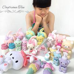 ♥️ @bunnyscafe ♥️ #bunnyscafesquishy #bunnyscafesquishyshop #squishyhaul #bunnysquishy #bunnysquishyspam #squishylover #squishyspam