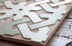 How to make a Sgraffito Concrete Tile