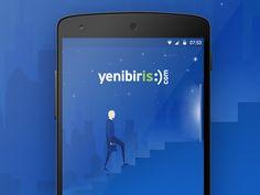 Yenibiris.com Android Concept by Gökhan Kurt