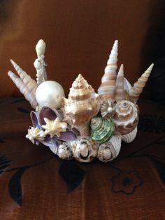 shell crown/ mermaid tiara by TheBatCaveAsylum on Etsy, $45.00