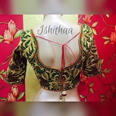 ishithaa boutique designer blouse.