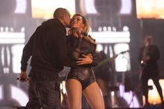 Jay-Z Shows Beyonce Some PDA On Stage At Chimes For Change Concert (VIDEOS X PHOTOS)