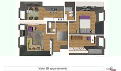 Corso interior design – livello base (madeininterior.it): progetto di Mariapia Cricchio