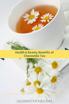 With the winter chill firmly in place, there's no better way to relax than with a steaming hot cup of chamomile tea and a fuzzy blanket at the end of a chilly night. The tea is an herbal infusion made