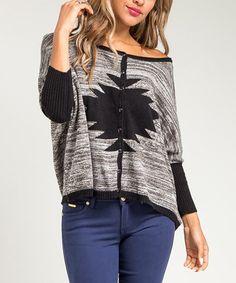 Fun cropped sweater.