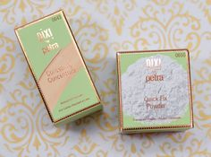 Look Flawless This Fall with Pixi's Concealing Concentrate & Quick Fix Powder