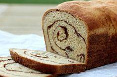 Whole Wheat Cinnamon Swirl Bread Cinnamon Swirl Bread, Cinnamon Chips, Bread Oven, Bread Baking, Yeast Bread, Fresh Bread, Sweet Bread, Strudel, Wheat Bread Recipe