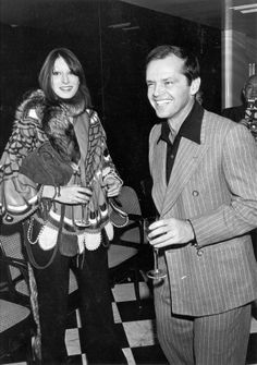 Angelica Houston and Jack Nicholson, 1970