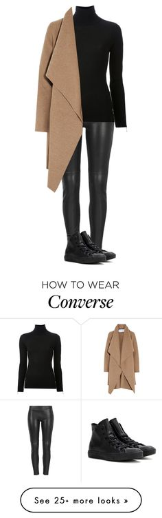 """Untitled #1852"" by street-style-98 on Polyvore featuring MuuBaa, Alexander Wang, Harris Wharf London and Converse"