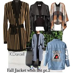 A fashion look from September 2015 featuring Balmain jackets, Chicnova Fashion coats and HIDE jackets. Browse and shop related looks.