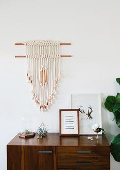 Entryway // DIY wall hanging //  smitten studio  @Sarah Chintomby Sherman Samuel