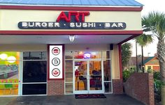 What's new in Myrtle Beach in 2015?  ART Burger Sushi Bar
