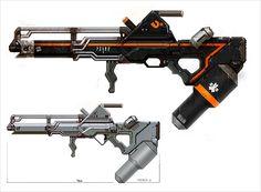 Weapon Concept Art Greg Broadmore