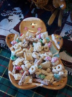 "Christmas Trash...The best Christmas snack you'll ever try---everyone starts asking for it weeks before Thanksgiving. A friend gave me the recipe, and she had found it in a magazine, ""Southern Living Lady"", I think."