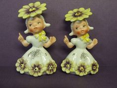 3 Have Napco Adhesive Labels All Have Their Stoppers Japan Two Sets 1950/'s Napco Small Pink and Gold Salt and Pepper Shakers #165