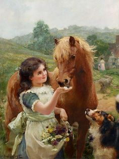 A SWEET TOOTH, BY ALFRED WILLIAM STRUTT