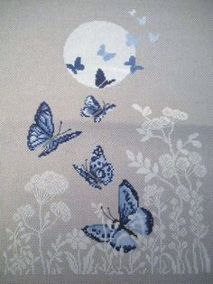 butterfly change to plumb & mauve