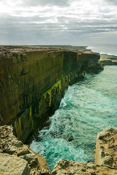 Inis Meain : Part 7 : Inky Green by stunt_penguin, via Flickr