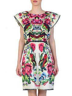 Etno Dress #lana #dumitru #lanadumitru #digitalprint #etnomotifs