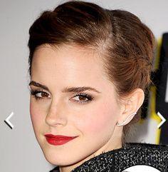 Love her earrings!