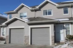 Condo in Edmonton $242800.00  #132 230 EDWARDS Drive Huge Master Bedroom, Gas Fireplace, Open Concept, Townhouse, Patio, Condos, Outdoor Decor, Things To Sell, Design