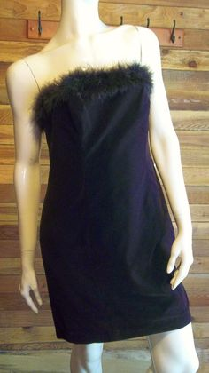 NWT DONNA MORGAN BROWN 'CHOCOLATE' VELVET STRAPLESS SIZE 8 COCKTAIL DRESS #DONNAMORGAN #Sexy #Cocktail