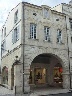 Maison de jean Guiton rue des Merciers - Maire de la Rochelle pendant le siège tenu par Louis XIII et Richelieu