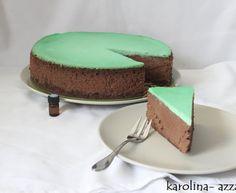 Čokoládovo mätový Cheesecake