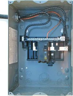 wiring diagram for a 50 amp, 240 volt circuit breaker