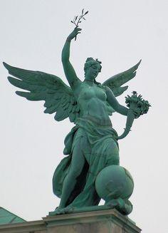 ❤ - Austria Hofburg Palace Sculpture.