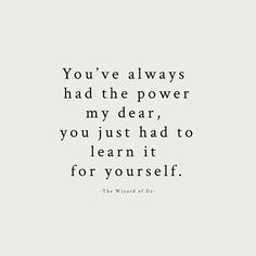 You've always had the power. @kylie_letters #mondayinspiration