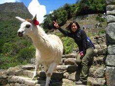 Making new friends in Peru