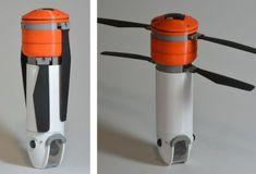 Modular Sprite Drone An Unmanned Aerial Vehicle Can Throw In Rucksack & Bust Out Later For Mid~Expedition Filming