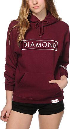 Zumiez Diamond Supply Co. Future Diamond Hoodie Found on my new favorite app Dote Shopping #DoteApp #Shopping