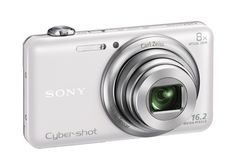 Sony DSC-WX80/W 16 MP Digital Camera with 2.7-Inch LCD (White) > > Price: $199.99 > Price: $198.00 > Features: *8x optical zoom plus 16x Clear Image Digital Zoom *16.2MP images with stunning low-light performance *Wi-Fi sharing to upload photos and videos *Full HD 1080/60i with dual record of stills and movies *Optical Image stabilization with 2-way active mode for smoother videos > Click on the image for details and offers.