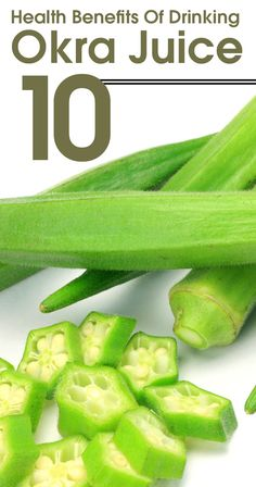 Okra is a well known vegetable, which is grown and consumed in almost every part of the world. Here are 10 amazing health benefits of drinking okra juice for you to know