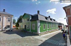 "Finlande : Porvoo, la vieille ville.  60°23'48.60""N 25°39'32.82""E"