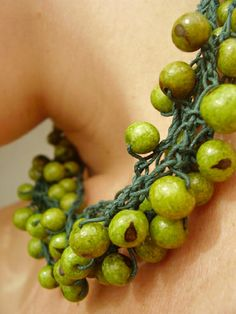 green açai necklace | Flickr - Photo Sharing!