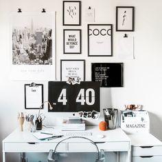 Desk inspiration by @milkywaysblueyes on instagram