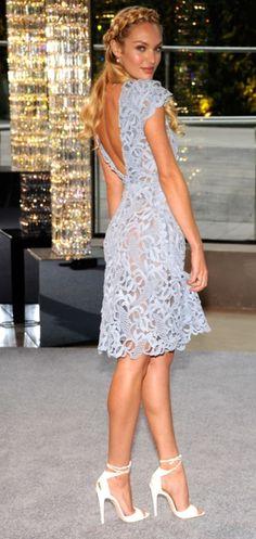 Candice Swanepoel in Valentino