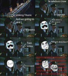 Sinking Titanic #Funny, #Movie, #Titanic