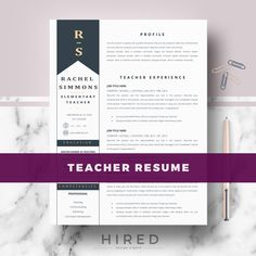 References Sheet Template Interesting Modern Resume Template Professional Resume Cv For Word And Pages .