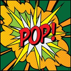 POP Art Exclamation 4 by Gary Grayson